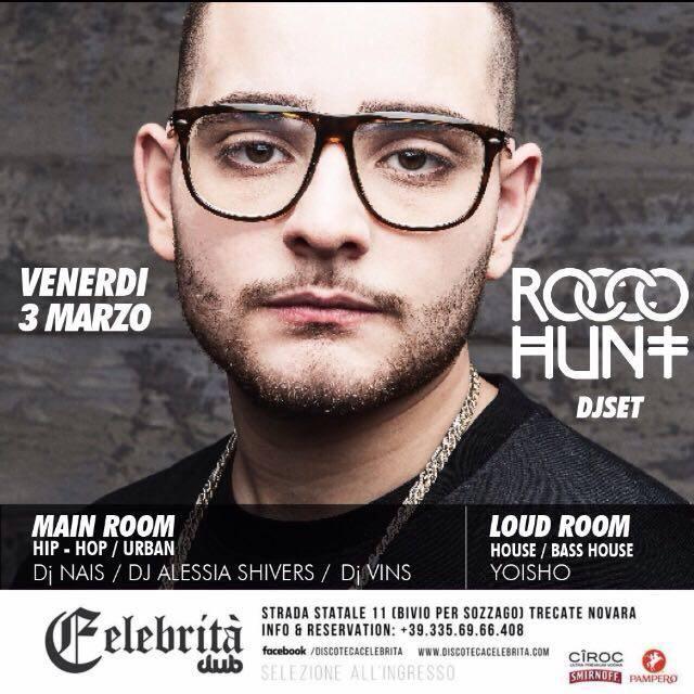Rocco Hunt al Celebrità!