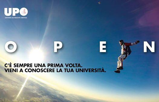 Vieni a conoscere la tua Università: Open day UPO