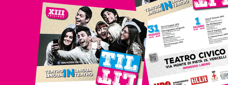 TiLLiT 2017: torna il teatro in lingua per apprendere!