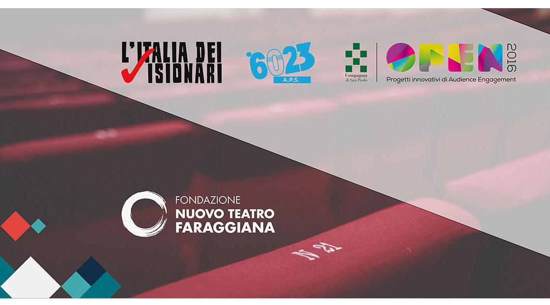 Progetto CONvergenze Visionarie della stagione teatrale 2017-2018 del Faraggiana