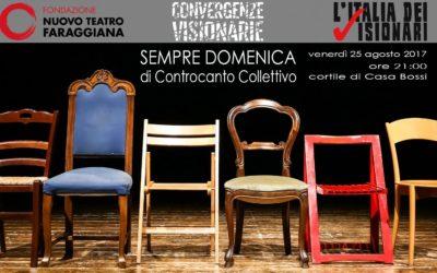 CONvergenze Visionarie: al via il 25 agosto la stagione under 30 del Faraggiana!