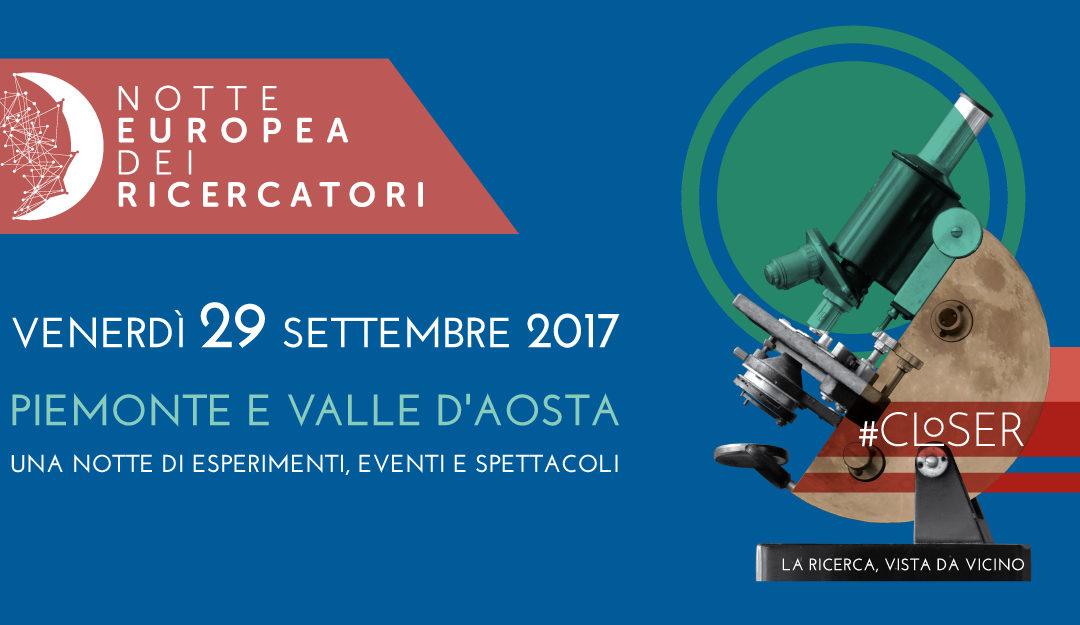 Il 29 Settembre ritorna la Notte Europea dei Ricercatori
