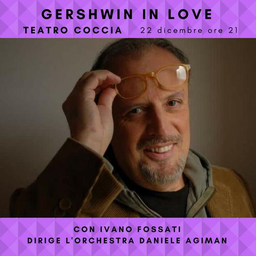 """Gershwin in Love"" raccontato da Ivano Fossati"