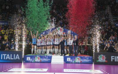 Emozionante Igor! Dopo Scudetto e Supercoppa, Novara fa sua anche la Coppa Italia