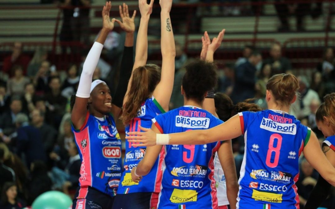 Champions League: per l'Igor Volley Novara un'altra convincente vittoria in Repubblica Ceca