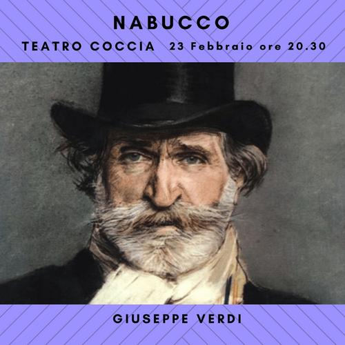 Nabucco, la celebre opera di Verdi in scena al Teatro Coccia.