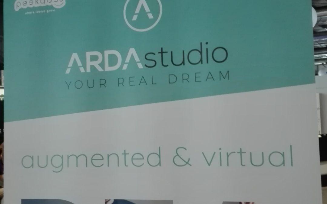 ArdaStudio VR a Campus Party: da Leonardo da Vinci alla Roma antica