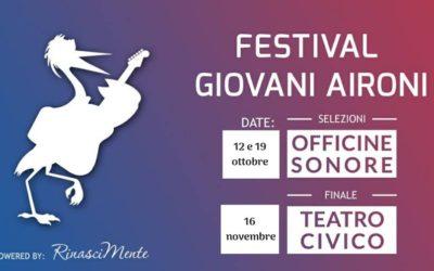 """Al via il Festival """"Giovani Aironi"""" a Vercelli"""