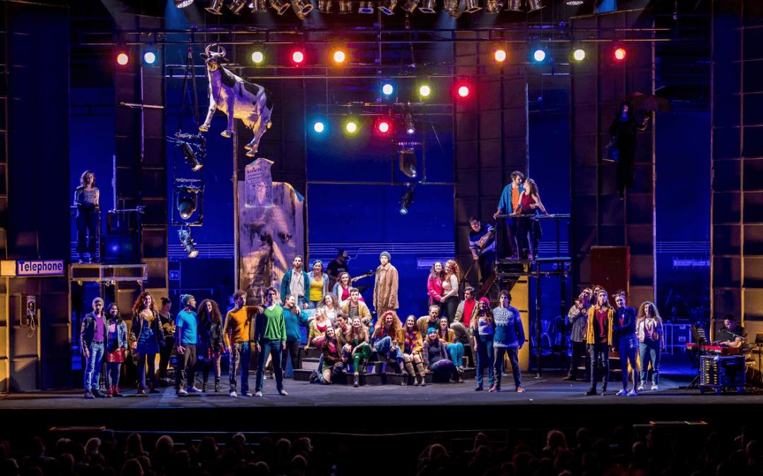 Rent: il pluripremiato musical rock al Teatro Coccia
