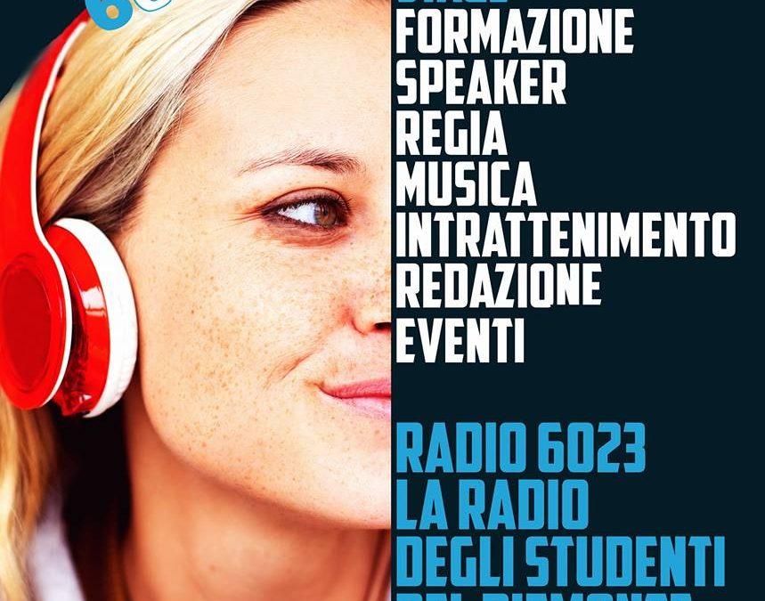 Radio 6023 propone: Master class in comunicazione, radiofonia e media digitali