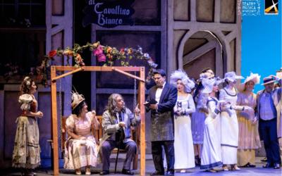 Al cavallino bianco: successo al Teatro Coccia