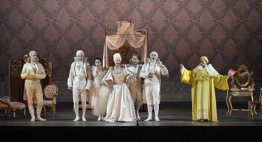 Le Nozze di Figaro: applausi convinti per Mozart
