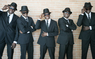 "The Black Blues Brothers: ""La scintillante impresa dei magnifici cinque"""