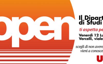 12 luglio: Open Day del Dipartimento di Studi Umanistici