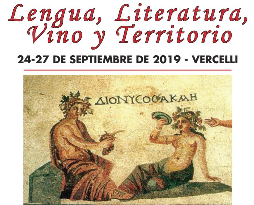 """Congresso internazionale """"Lengua, Literatura, Vino y Territorio"""""""