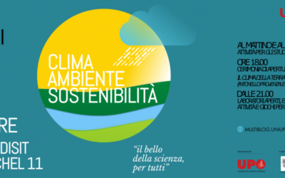 """""""Clima, ambiente, sostenibilità"""": la Notte dei Ricercatori ad Alessandria"""