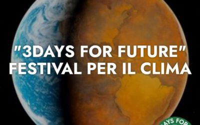 3 Days For Future: il Festival del Clima a Novara