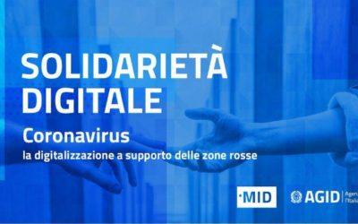 Solidarietà Digitale ai tempi del Coronavirus
