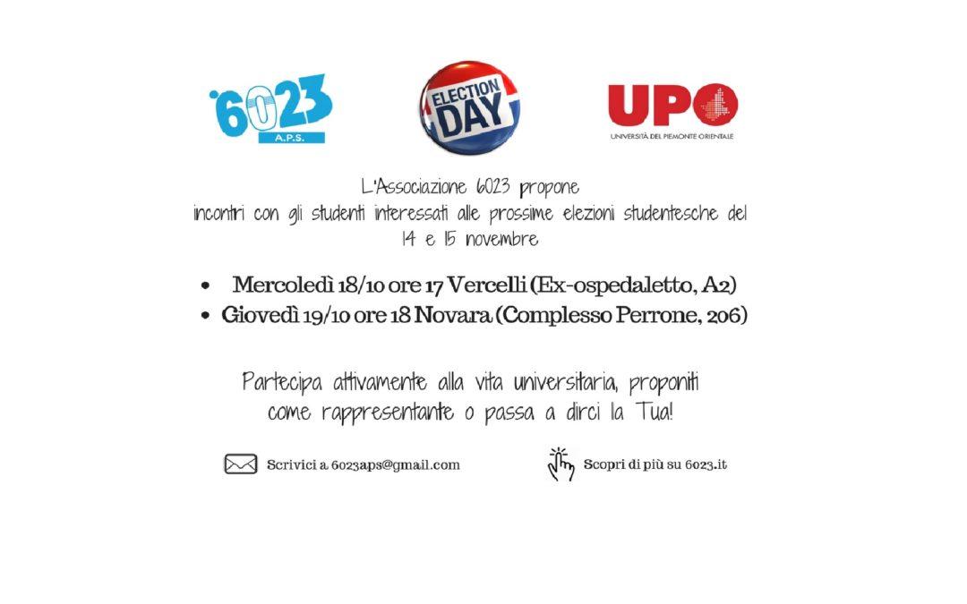 Incontri Elettorali 6023 Elezioni Studenti UniUPO 2017