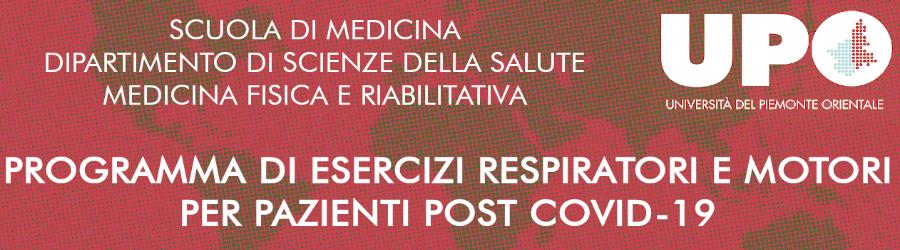 """Portale web """"Riabilitazione Post COVID-19""""."""