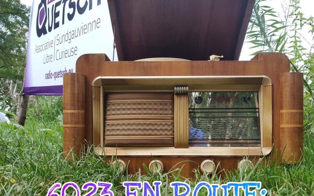 6023 en route: Alsace Express, il nuovo podcast di Radio 6023