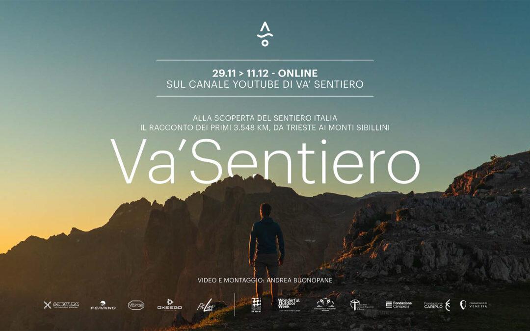 Va' Sentiero: online il docufilm del cammino lungo il Sentiero Italia