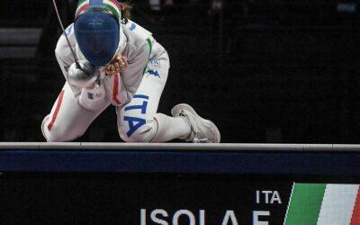 Federica Isola bronzo nella scherma olimpica a squadre